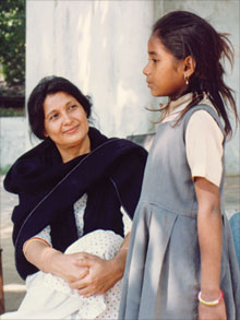 geeta and girl
